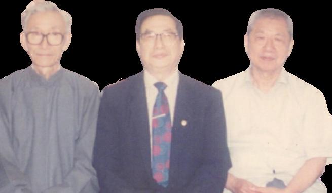 左起陶炳祥老師、張肇平老師、周德培老師